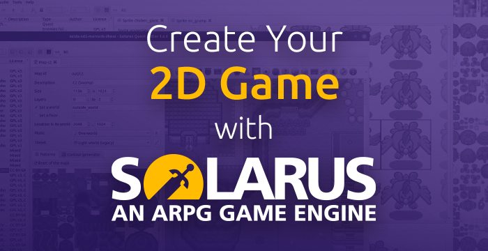 Create your 2D game with Solarus