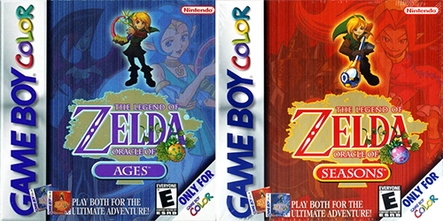 The Legend of Zelda: Oracle boxes